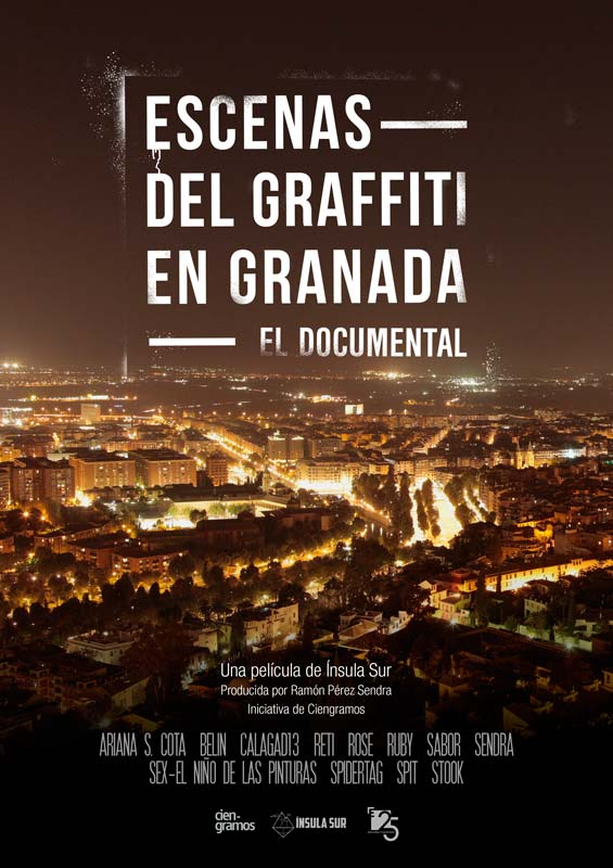 documental escenas del graffiti en granada ínsula_sur