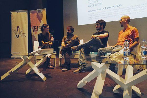La productora audiovisual Ínsula Sur participó en Málaga en el Festival Moments