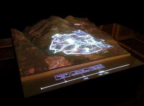 Mapping realizado por Ínsula Sur