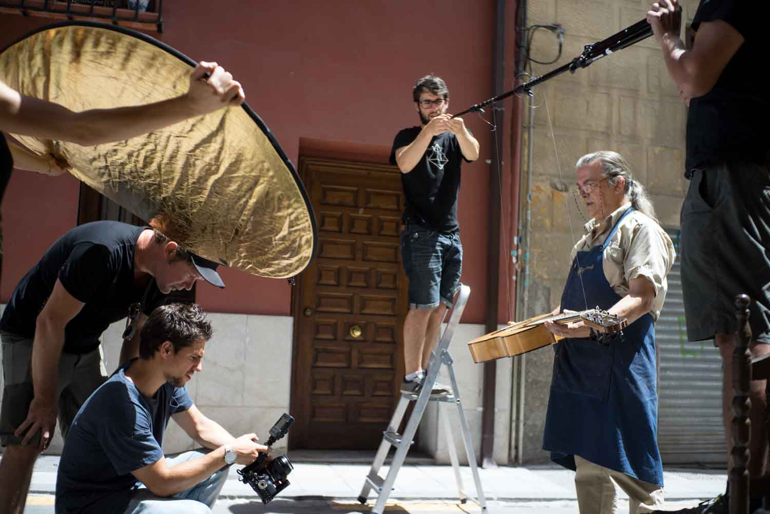 Making of del videoclip Mencanta de Antonio Carmona