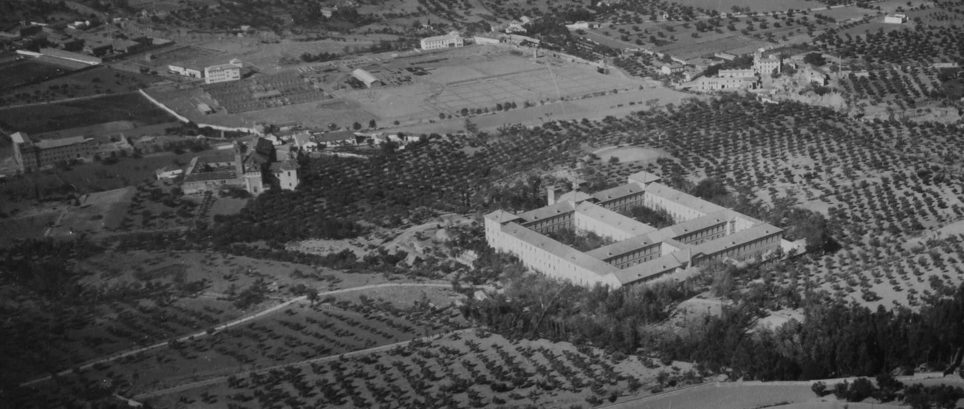 """Fotografía de archivo del documental """"Campus de Cartuja, crónica de un paisaje"""" realizado por Ínsula Sur"""