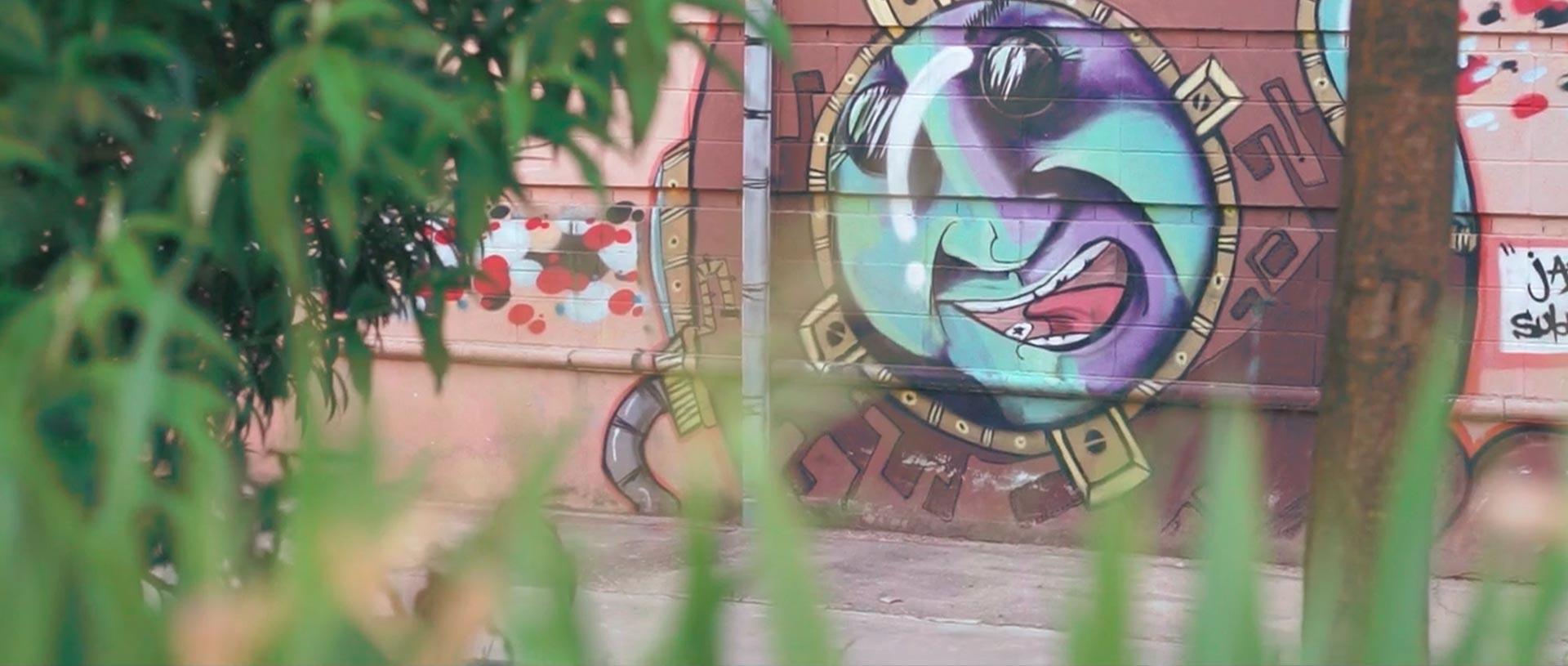 Graffiti de la promo Escenas del graffiti en Granada