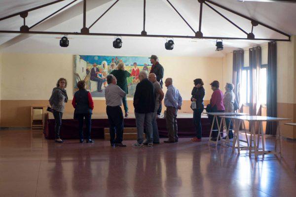"""Localización del documental """"La cosecha de Los Lunares"""" en el ayuntamiento de Palomares"""